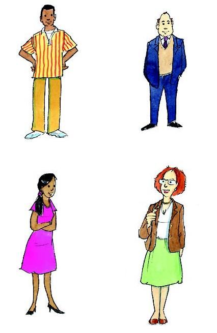 Описать внешность человека на английском языке